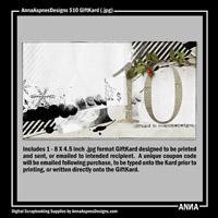 AnnaAspnesDesigns $10 GiftKard