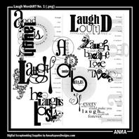 Laugh WordART No. 1