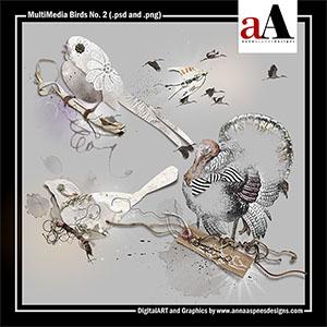 MultiMedia Birds No. 2