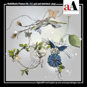 MultiMedia Flowers No. 11