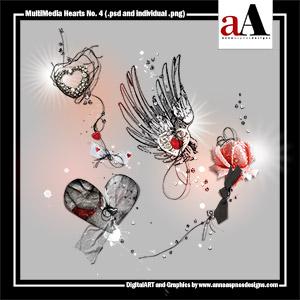 MultiMedia Hearts No. 4