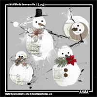 MultiMedia Snowmen No. 1