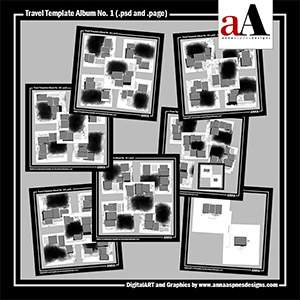 Travel Template Album No. 1 (Artisan Software Users)