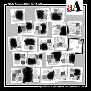 Tribute Template Album No. 1