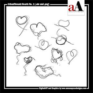 UrbanThreadz Hearts No. 1