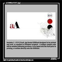 aA GiftKard $10
