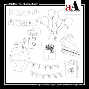 eA Birthday No. 1