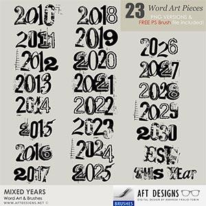 Brush Set: Mixed Years