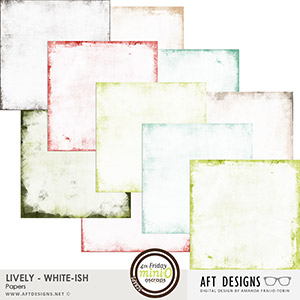 Lively White-ish Papers