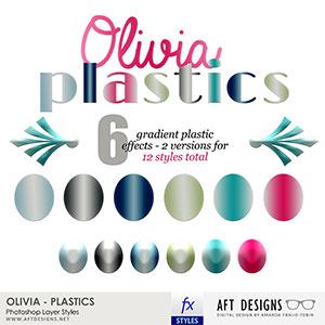 Layer Styles: Olivia Plastics