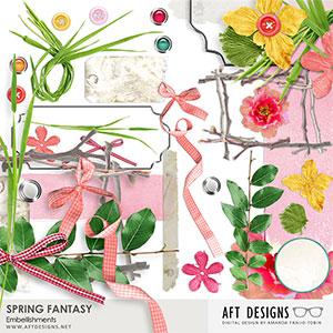Spring Fantasy Embellishments