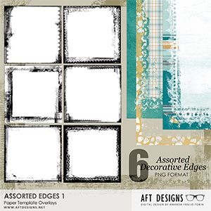 Paper Templates - Assorted Edges 1
