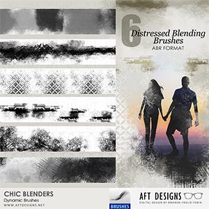 Dynamic Brush Set: Chic Blenders