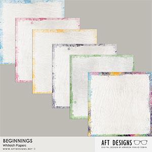 Beginnings White-ish Papers