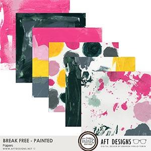 Break Free - Painted Papers