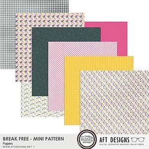 Break Free - Mini Patterned Papers