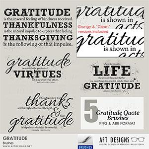 Brush Set: Gratitude