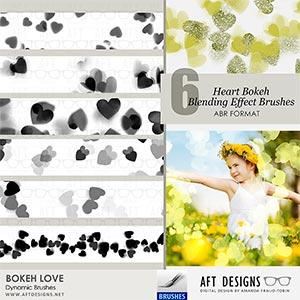 Dynamic Brush Set: Bokeh Love