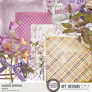 Faded Spring Mini Kit