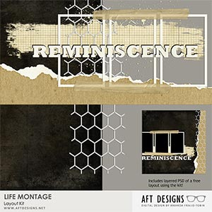 Life Montage Layout Kit
