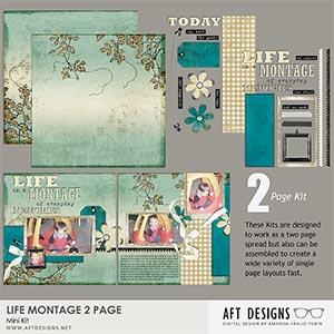 Life Montage 2 Page Mini Kit