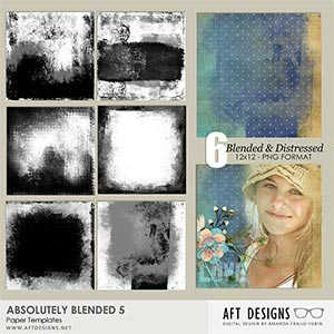 Paper Templates - Absolutely Blended 5