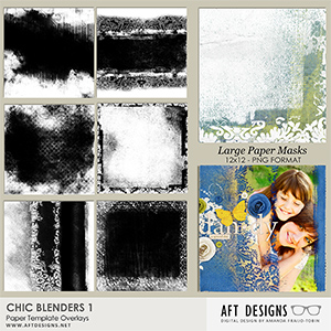Paper Templates - Chic Blenders 1