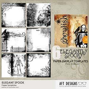 Paper Templates - Elegant Spook