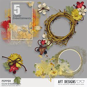 Pepper Cluster Embellishments