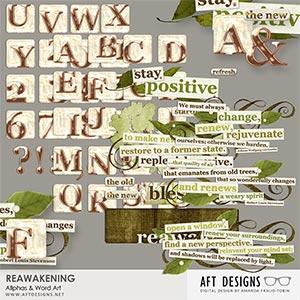 Reawakening Alphas & Word Art