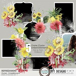 Refreshmint Frame Cluster Embellishments