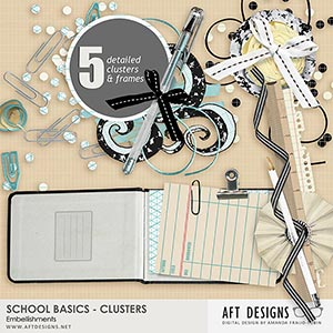 School Basics Cluster Embellishments