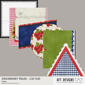 Strawberry Fields - Cut Out Papers