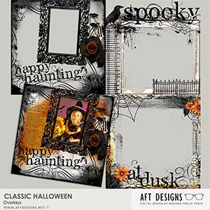 Classic Halloween Overlays