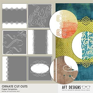 Paper Templates: Ornate Cut Outs