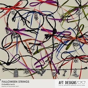 Falloween Embellishmets: Strings n Things