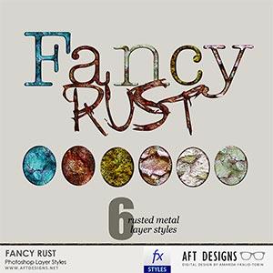 Layer Styles: Fancy Rust