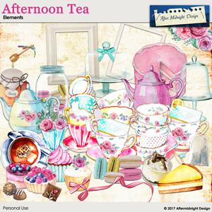 Afternoon Tea Elements