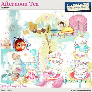 Afternoon Tea Transfers