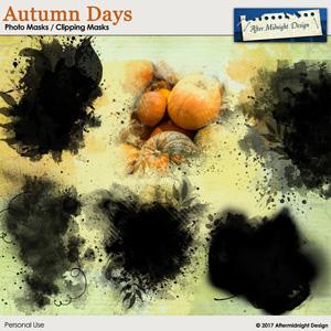 Autumn Days Photo Masks