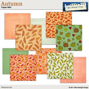 Autumn Paper Mini