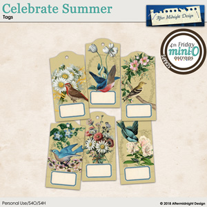 Celebrate Summer Tags 1