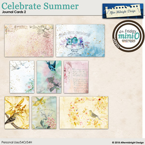 Celebrate Summer Journal Card 2