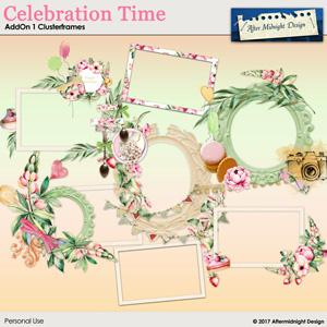 Celebration Time AddOn 1 Clusterframes