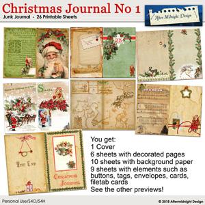 Christmas Junk Journal No 1