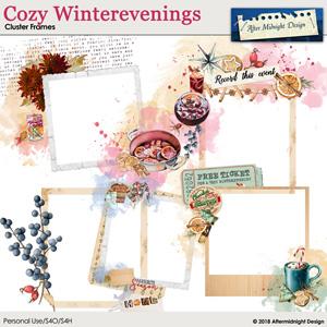 Cozy Winterevenings Cluster Frames