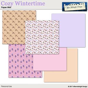 Cozy Wintertime Paper Mini