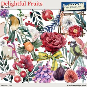Delightful Fruits Elements