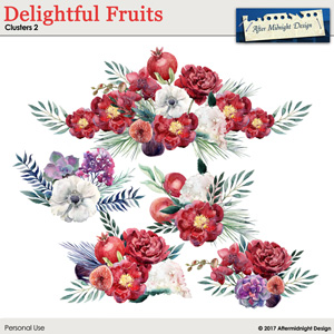 Delightful Fruits Clusters 2