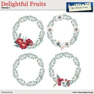 Delightful Fruits Frames 1
